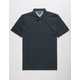VOLCOM Wowzer Navy Mens Polo Shirt