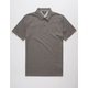 VOLCOM Wowzer Charcoal Mens Polo Shirt