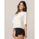 VANS Off The Wall White Womens Tee