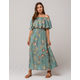 ROXY Technicolor Sky Maxi Dress