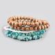 FULL TILT 5 Piece Stone Bracelets