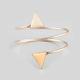 FULL TILT Sprial Coil Triangle Bracelet