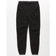 NITROUS BLACK Capacity Boys Moto Jogger Pants