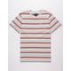 HUF Off Shore Stripe Mens T-Shirt