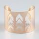 FULL TILT Arrow Cutout Bangle Bracelet