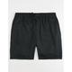 RVCA Dayshift Black Mens Volley Shorts
