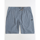 RIP CURL Mirage Jackson Boardwalk Blue Mens Hybrid Shorts