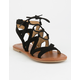 SODA Ghillie Girls Gladiator Sandals