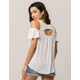 OTHERS FOLLOW Cold Shoulder Womens Top