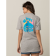 PINK DOLPHIN Vintage Leap Womens Tee