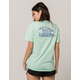 PINK DOLPHIN Barrel Womens Tee