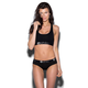 ETHIKA Midnight Black Sports Bra