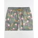 VALOR Flamingos Mens Swim Trunks