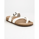 MADDEN GIRL Paamy White Womens Sandals