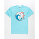 PINK DOLPHIN Vintage Leap Mens T-Shirt