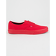 VANS Authentic True Red & Black Shoes
