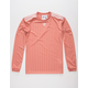 ADIDAS 3 Stripes Pink Mens Jersey
