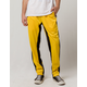 UNCLE RALPH Striped Yellow Mens Track Pants