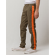 UNCLE RALPH Side Strip Olive Mens Pants