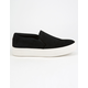 STEVE MADDEN Gills Black Suede Womens Shoes