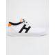 HUF Galaxy White Orange & Navy Mens Shoes