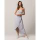 IVY & MAIN Stripe Wrap Maxi Skirt
