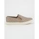 STEVE MADDEN ECENTRCQ Grey Womens Slip-on Shoes