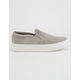 STEVE MADDEN Gills Grey Suede Womens Shoes