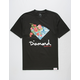 DIAMOND SUPPLY CO. Painted Floral Mens T-Shirt