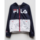 FILA Heritage Colorblock Girls Windbreaker Jacket