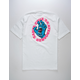 SANTA CRUZ Screaming Hand White Mens T-Shirt