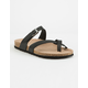 MADDEN GIRL Paamy Black Womens Sandals