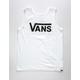 VANS White Classic Boys Tank