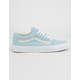 VANS Pastel Suede Old Skool Crystal Blue Womens Shoes