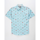 SALTY CREW Rocks Docks Mens Shirt