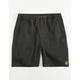 HIPPYTREE Crag Black Mens Shorts