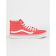 VANS Sk8-Hi Slim Deep Sea Coral & True White Womens Shoes