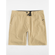 NITROUS BLACK Wash Up Desert Mens Hybrid Shorts
