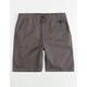 NITROUS BLACK On Point Boys Shorts