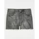 RSQ Sunset High Rise Grey Girls Denim Shorts