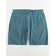 VALOR Pigment Dyed Ocean Mens Hybrid Shorts