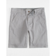 CHARLES AND A HALF Lincoln Stretch Grey Boys Shorts