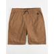 NITROUS BLACK On Point Tobacco Boys Shorts