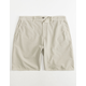 VALOR Pigment Dyed Tan Mens Shorts