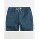 NITROUS BLACK Cassius Navy Mens Shorts
