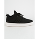 STEVE MADDEN Lancer Black Womens Shoes