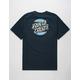 SANTA CRUZ Serape Dot Navy Mens T-Shirt