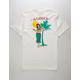 RIOT SOCIETY Aloha Island White Mens T-Shirt