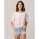 AMUSE SOCIETY Roll With It Womens Tee
