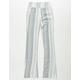 INDIGO REIN Stripe Linen Girls Palazzo Pants